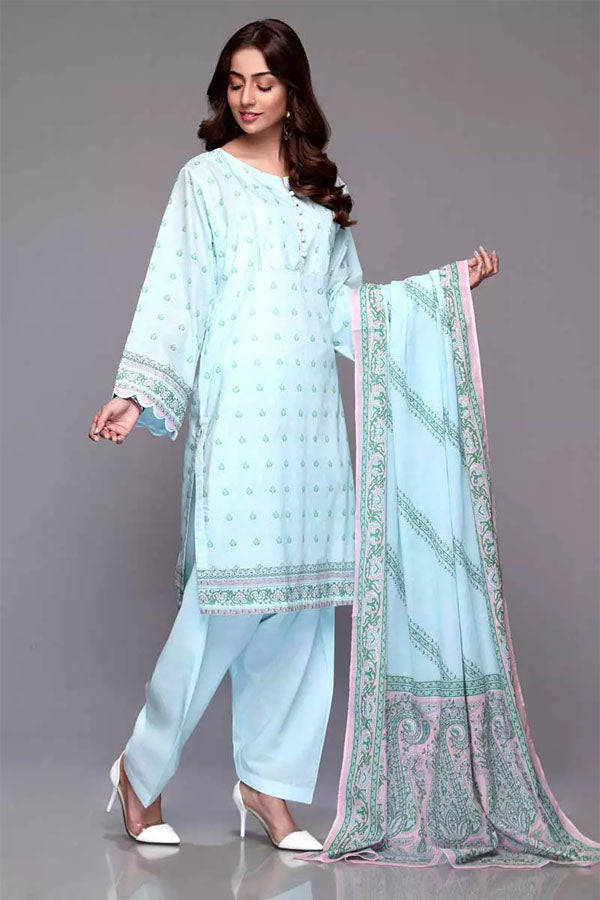 Gul Ahmed Mothers Spring Summer Embroidered Unstitched 3 Piece Suit Collection GSS20-715-A