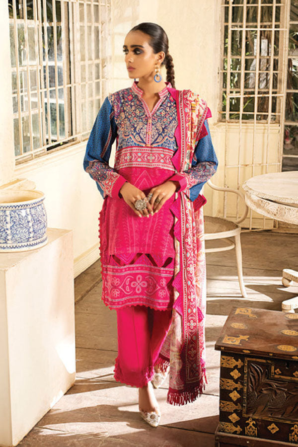 Alzohaib by Coco Digital Lawn Printed Unstitched 3 Piece Suit collection ACL21-05