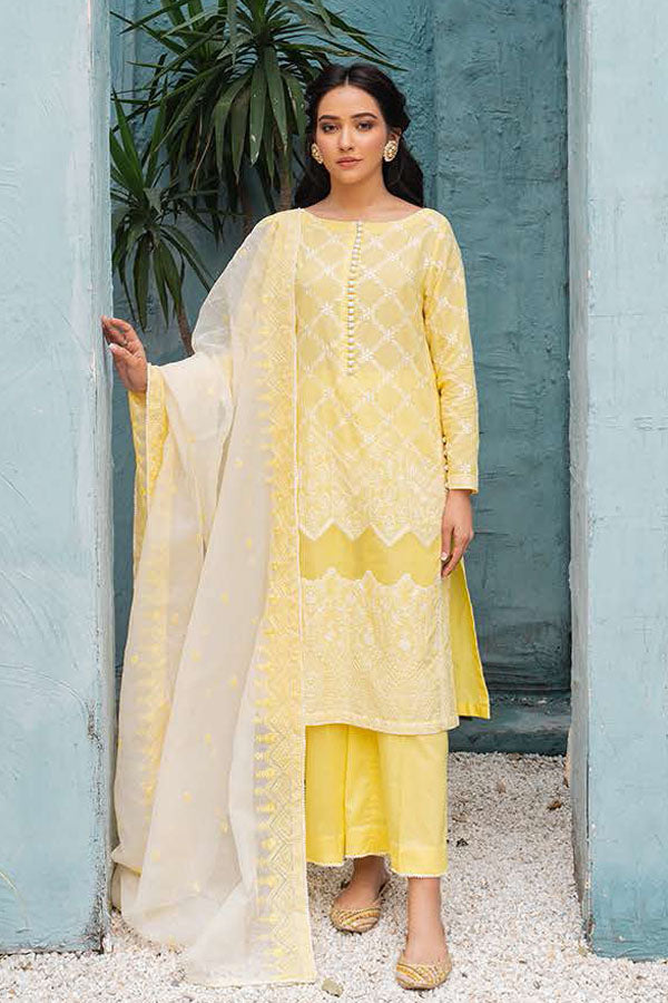Cross Stitch Mahiri Lawn Embroidered Unstitched 3 Piece Suit collection CSM21-03