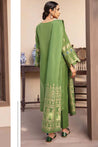 Orient Festive Jacquard Embroidered Unstitched 3 Piece Suit Collection OJF21-259/U ARMY GREEN