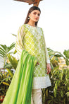 Orient Summer Embroidered Unstitched 3Piece Suit Collection OSL21-018 GREEN