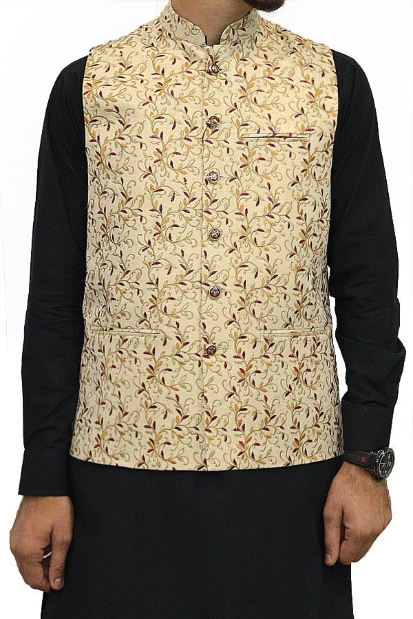 Royal Fashion Waist Coat Embroidered For Men's Collection RWC21-03
