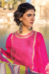 LSM Lakhany Vol-01 Spring Summer Embroidered Unstitched 3 Piece Suit collection LSS21-05