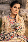 LSM Lakhany Vol-01 Spring Summer Embroidered Unstitched 3 Piece Suit collection LSS21-09