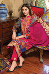 MTF Summer Breeze Embroidered Unstitched 3 Piece Suit collection MSB21-07