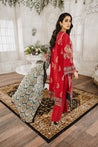Maryum N Maria Luxury Lawn Embroidered Unstitched 3 Piece Suit collection MLL21-10