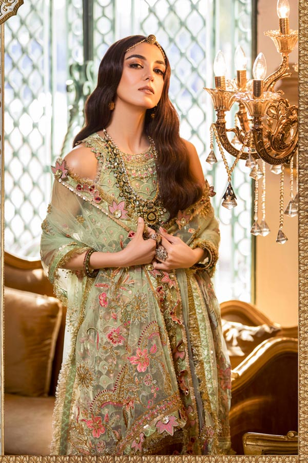 Noor by Saadia Asad Festive Embroidered Unstitched 3 Piece Suit collection NAF21-01