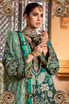 Noor by Saadia Asad Festive Embroidered Unstitched 3 Piece Suit collection NAF21-06