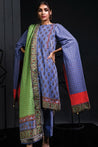 Orient Winter Embroidered Unstitched 3 Piece Suit collection OWC19-188-A