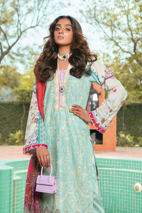 Rajbari Premium Festive Embroidered Unstitched 3 Piece Suit Collection RPF21-01B