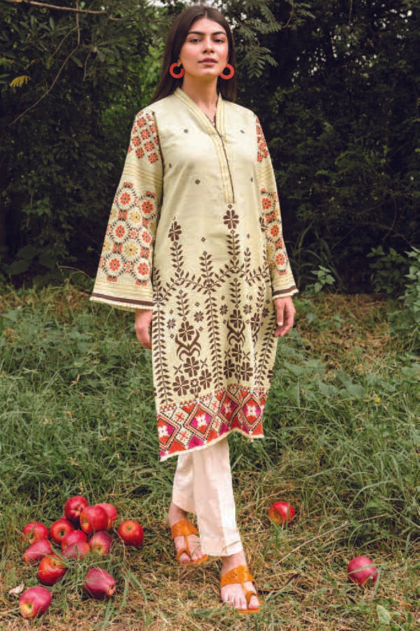 Orient MYSÃ Winter Embroidered Unstitched Shirt Collection OMC20-169B