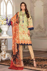 Zara Ali by Shahana Festive Lawn Embroidered Unstitched 3 Piece Suit Collection ZFL21-07