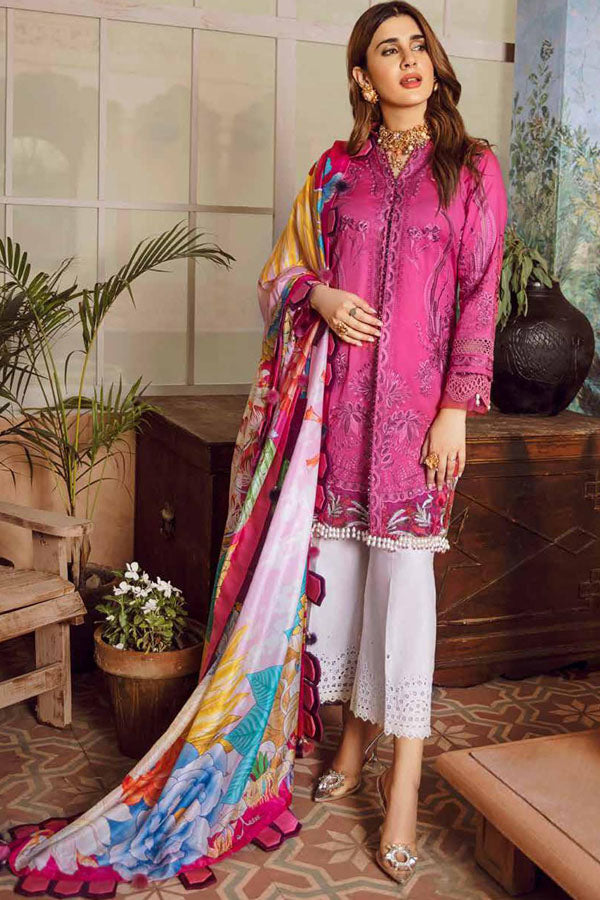 Maryam Hussain Festive Lawn Embroidered Unstitched 3 Piece Suit Collection MHC20-10