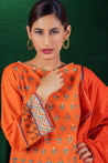Orient Winter Embroidered Unstitched 3 Piece Suit collection OWC19-225-A