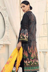 Alzohaib Sunshine Bloom Cotton Silk Embroidered Unstitched 3 Piece Suit Collection AZS19-06