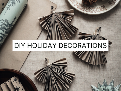 5 Easy Holiday DIY Decorations