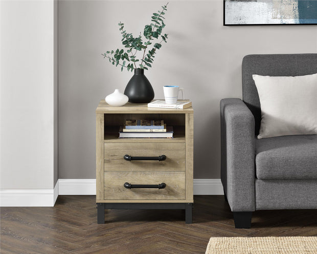 Marxen End Table - Natural - N/A