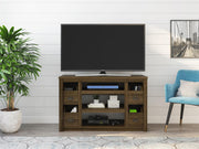 "Adams TV Stand for TVs up to 55"" - Brown Oak - N/A"