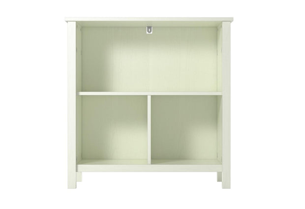 Alyssa Bookcase - Ivory Oak - N/A