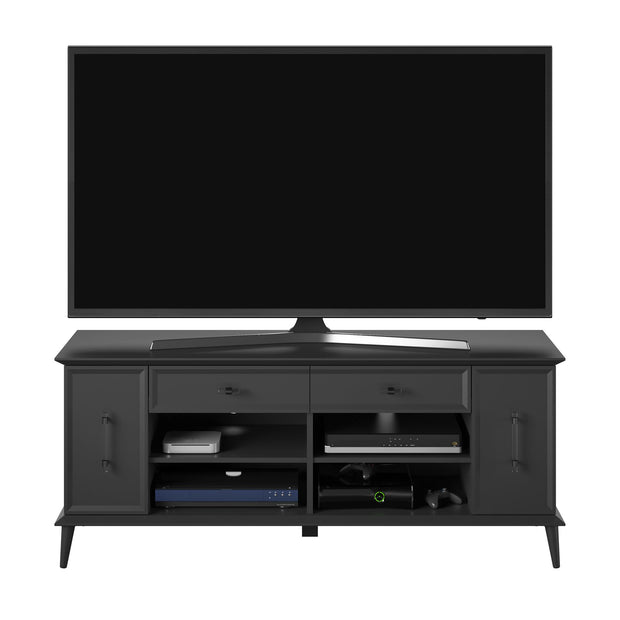 "Bessling TV Stand for TVs up to 60"" - Black - N/A"