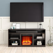 "Ankeny Fireplace TV Stand for TVs up to 65"" - Espresso - N/A"