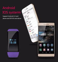 Stylish Waterproof Heart Rate Monitor Wristband