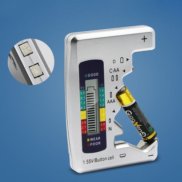 Digital Battery Battery Capacity Detector
