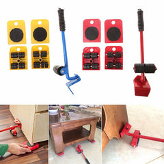 5Pcs Furniture Moving Hand Tools Set