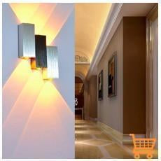Aluminum Decorate LED Wall Lamps