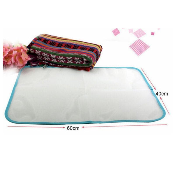 New Protective Press Mesh Ironing Cloth Guard Protect Delicate Garment Clothes
