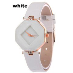 Gem Cut Crystal Wrist Watch For Womens