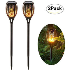 Solar Flame LED Lights