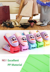 Colorful Space Saving Shoe Organizer