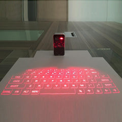 Laser Projection Bluetooth Wireless Keyboard For Mobile Phones
