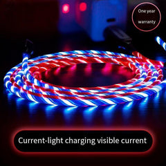LED Flowing Light Charging Cable