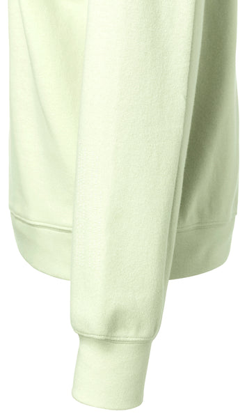 YAYA Cotton sweatshirt, light lime