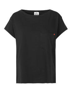 MADS NORGAARD Organic Cotton Tee, black
