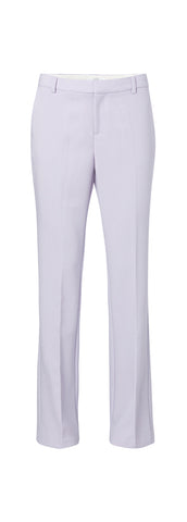 YAYA Tailored Trousers with flared legs, lilac