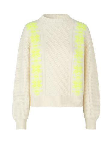 MADS NORGAARD Recy Knit, white sand