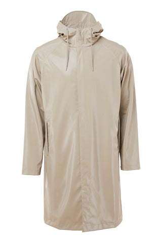 RAINS Coat, shiny beige