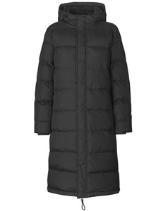 MADS NORGAARD Jolene Long Coat, black