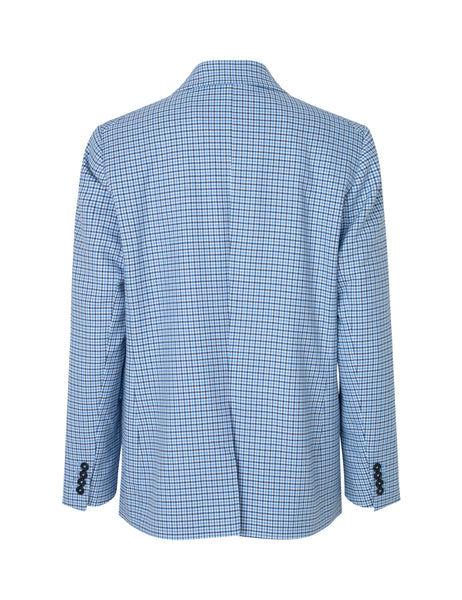 MADS NORGAARD Dogtooth Check Blazer, blue