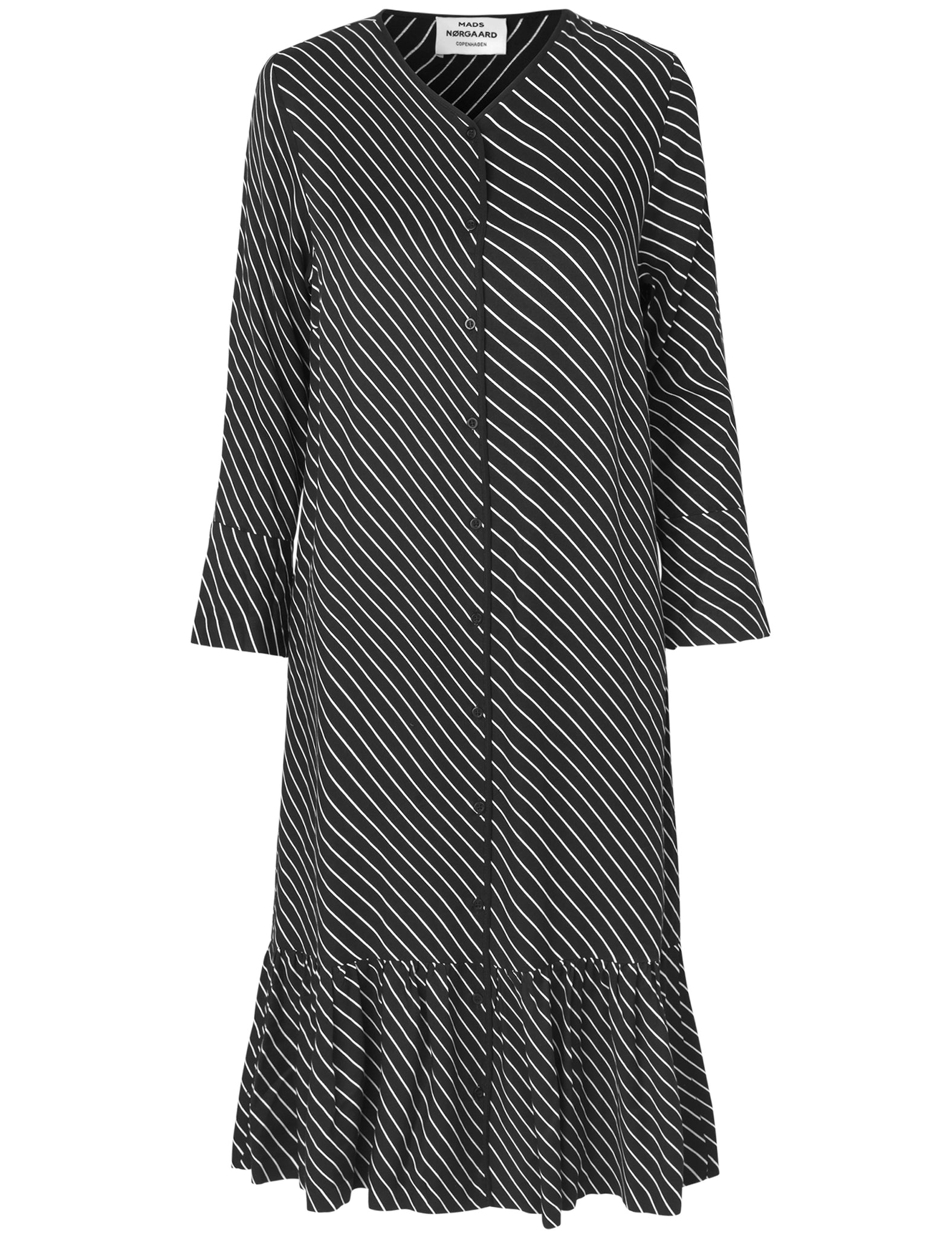 MADS NORGAARD Dadina Dress, black