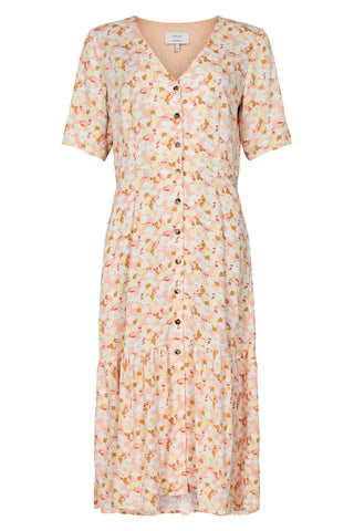 NÜMPH Nuabette Flower Dress, pink