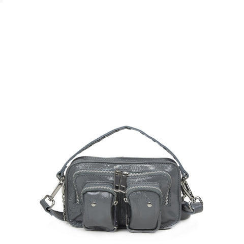 NUNOO Helena gloss Bag, grey
