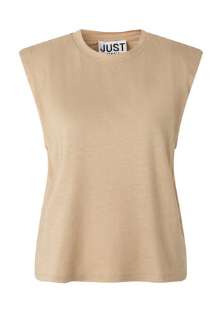JUST FEMALE Bejing Top, beige