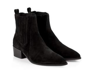 PAVEMENT Sage Suede Boot, black