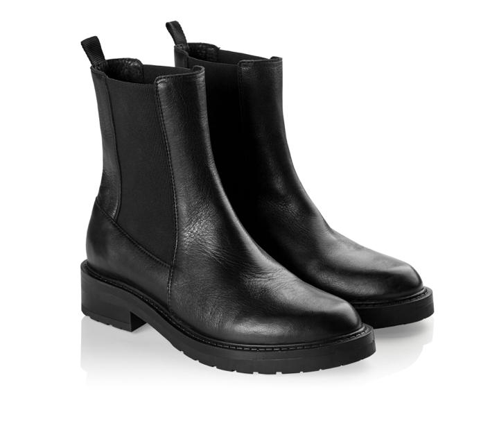 PAVEMENT Jemma Long Boot, black