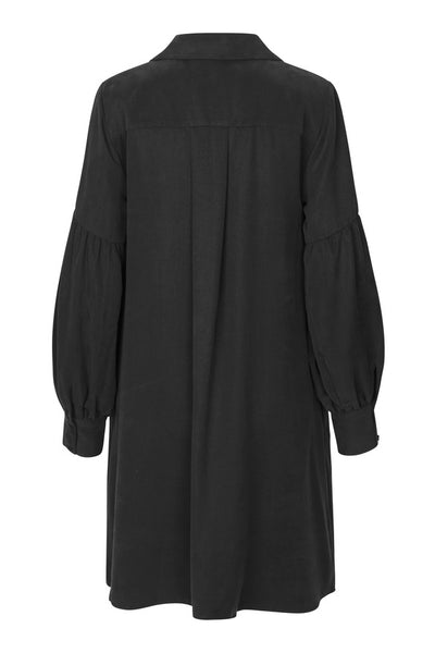 JUST FEMALE Diaz Shirt Dress, black