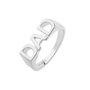 MARIA BLACK Dad Ring, silver